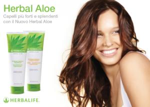 herbal aloe shampoo