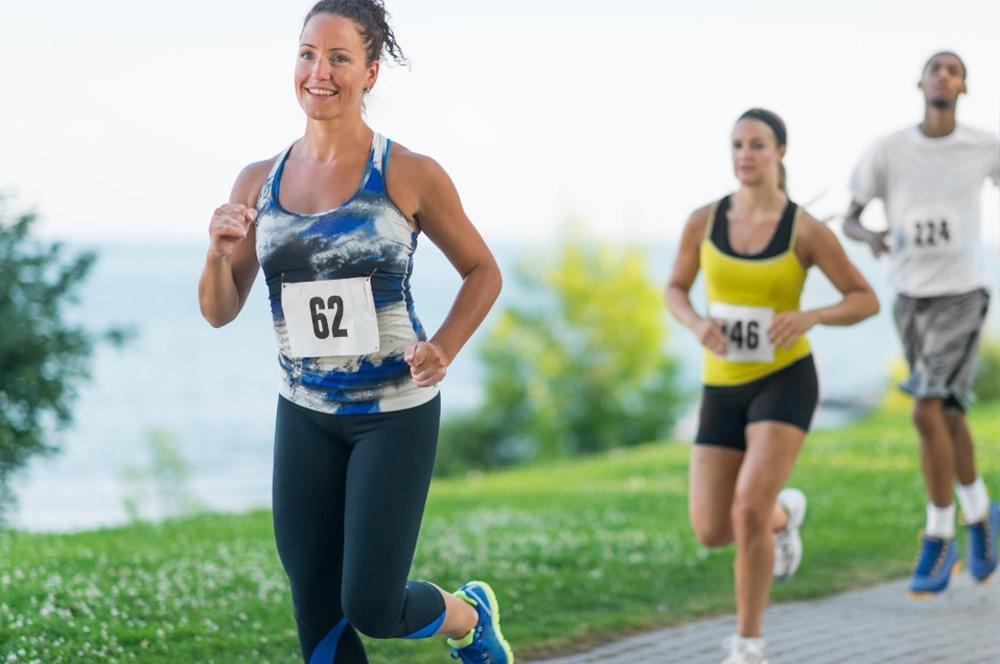 maratoneta distacco